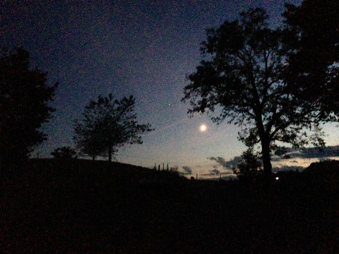 Mond über Sattenlegi 2016
